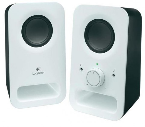 PC reproduktory 2.0 Reproduktory Logitech Z150 Multimedia Speakers, 3W, 2.0, bílé