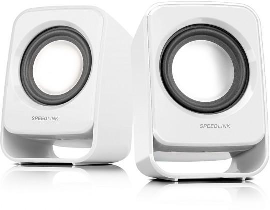 PC reproduktory 2.0 Speedlink Snappy white
