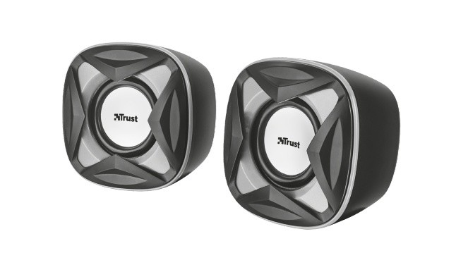PC reproduktory 2.0 Trust Xilo Compact 2.0 Speaker Set, černé 21180