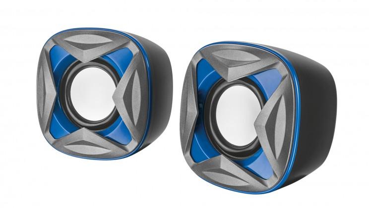 PC reproduktory 2.0 Trust Xilo Compact 2.0 Speaker Set, modré 21182