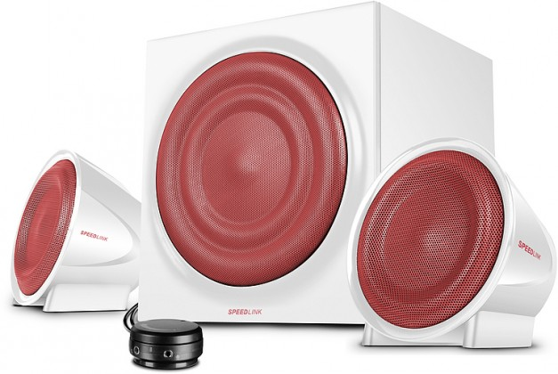 PC reproduktory 2.1 Jugger2.1 Subwoofer System, white