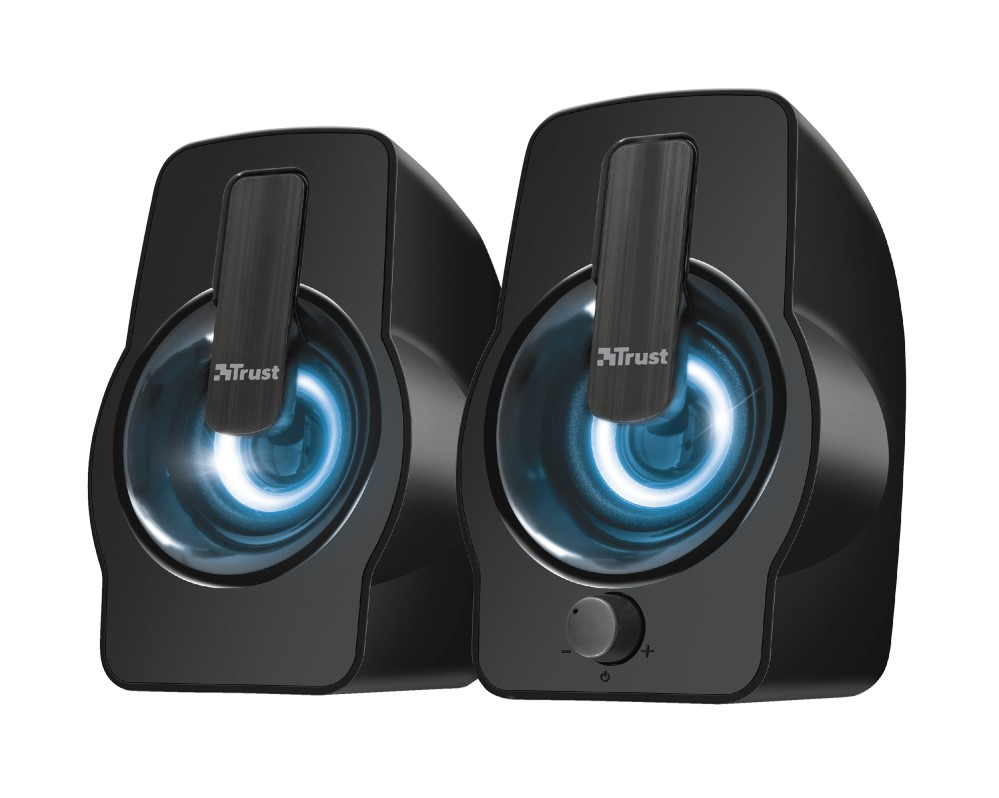 PC reproduktory 5.0 a více Gemi RGB 2.0 Speaker Set - black