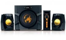 PC reproduktory Genius GX SW-G2.1 3000 Ver.II, herní, 2.1, 80W