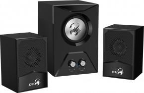 PC reproduktory Genius GX SW-G2.1 500, herní, 2.1, 15W, černé