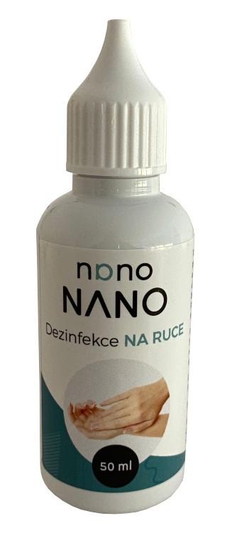 Péče o nábytek Nano - dezinfekce na ruce (50 ml)