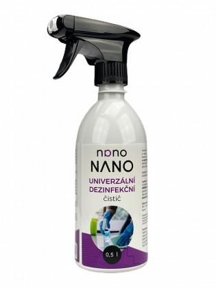 Péče o nábytek Nano - univerzální dezinfekční čistič (500 ml)