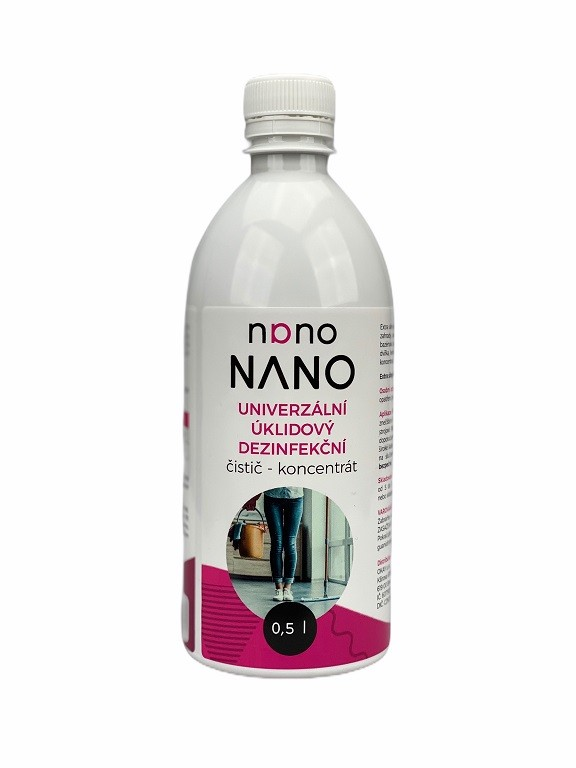 Péče o nábytek Nano - univerzální úklidový dezinfekční čistič (koncent. 500 ml)