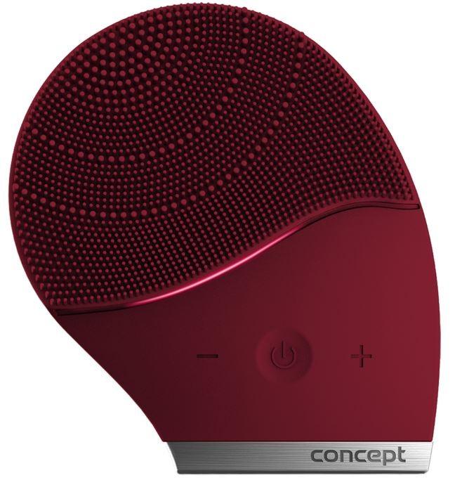Péče o pleť Čisticí sonický kartáček na obličej Concept SK9001, burgundy