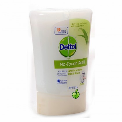Péče o pleť Náplň do bezdotykového dávkovače Dettol Aloe Vera, 250 ml