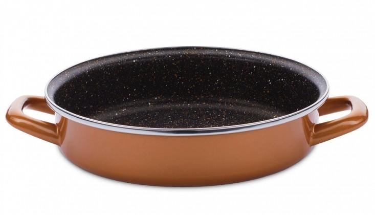 Pekáč Kulatý pekáč, 26 cm Delimano Stone Legend Copperlux