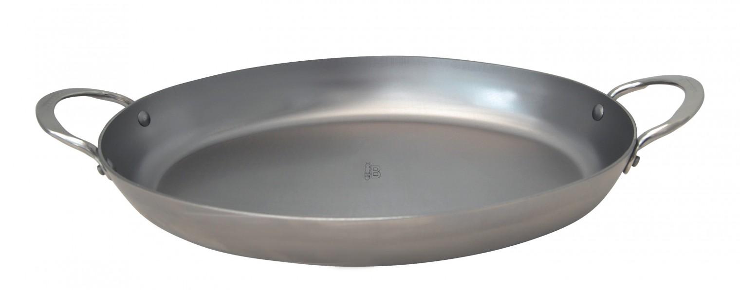 Pekáč Ocelový oválný pekáč de Buyer Mineral B Element 36x26cm