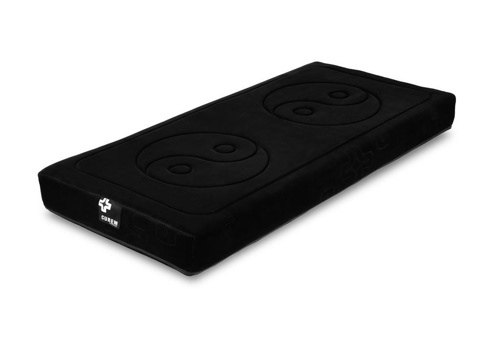 Pěnové Curem 1000 - matrace, černý potah (80x200)