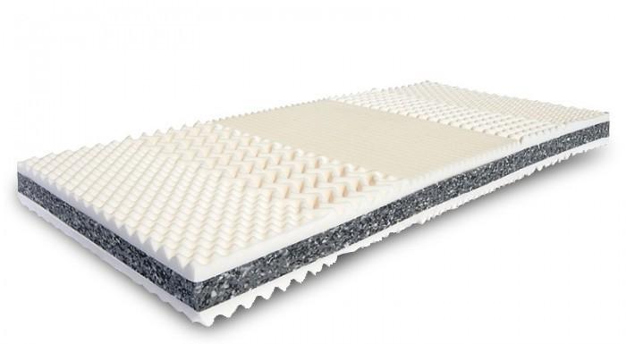 Pěnové Matrace Prima XXL oboustranná, masážní profil - 90x200