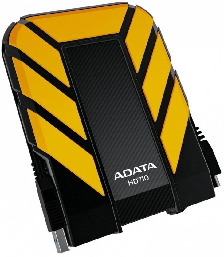 Pevné disky-HDD ADATA HD710 - 1TB, žlutý AHD710-1TU3-CYL