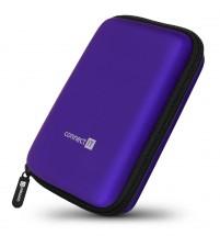 "Pevné ochranné pouzdro na 2,5"" HDD Connect IT CFF5000BL, modré"