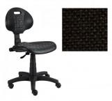 Piera - Dílenská židle (antistatická, kloub, černá)