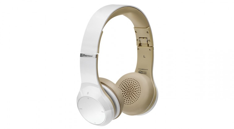 Pioneer sluchátka s BT bílá (SE-MJ771BT-W)