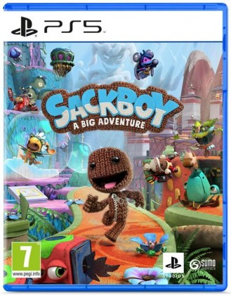 PlayStation 5 hry Hra PS5 Sackboy A Big Adventure!