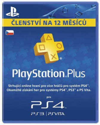 Playstation Plus Card - 365 dní PS719807346