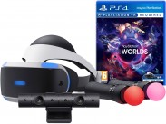 PlayStation VR+hra Worlds+kamera+PS MOVE Twin Pack PS719880561