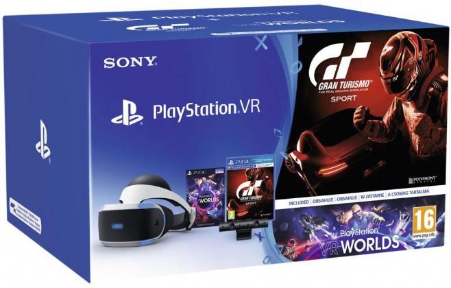 PlayStation VR v2+Kamera+Gran Turismo Sp ROZBALENO