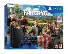 Playstation4 Slim, 1TB, černá + Far Cry 5 PS719377672 ROZBALENO