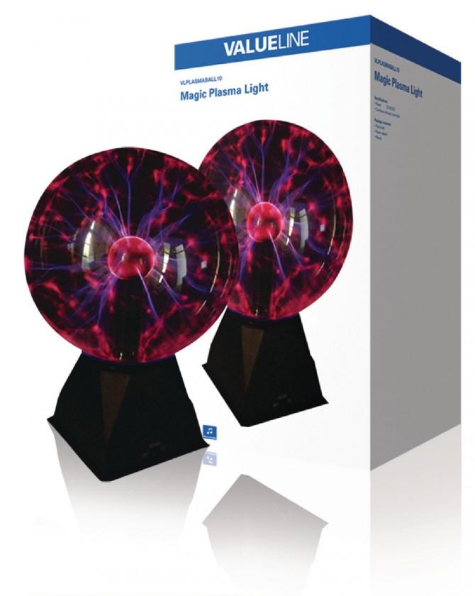 Plazma koule 20 cm magická