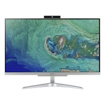 "Počítač Acer Aspire C24-865, ALL-IN-ONE, 23,8"", i3, stříbrná + ZDARMA USB-C/RJ45 redukce Olpran"