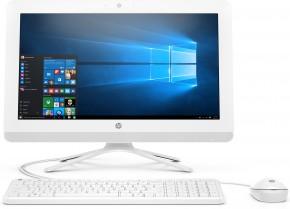 Počítač HP 20-c412nc, all-in-one, 19,5'', bílá + ZDARMA USB-C/RJ45 redukce Olpran