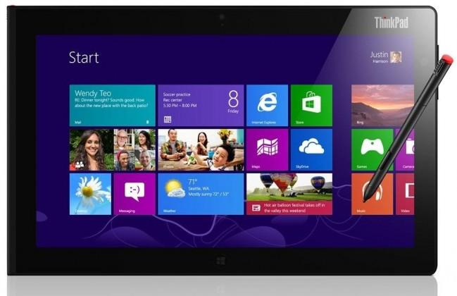 Počítače, tablety ZLEVNĚNO Lenovo ThinkPad 2 N3S4HMC, černá VADA VZHLEDU, ODĚRKY