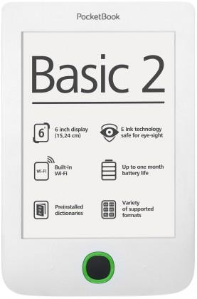 POCKETBOOK 614 Basic 2 White + 100knih ZDARMA