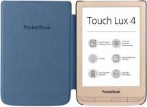 POCKETBOOK 627 Touch Lux 4, dárková sada s obalem, zlatá