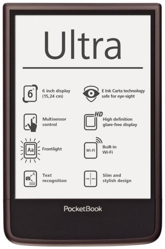PocketBook 650 Ultra tmavě hnědá