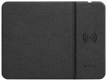 Podložka pod myš Canyon CNS-CMPW4, s bezdrát. nabíjením, černá