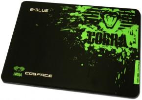 Podložka pod myš E-Blue Cobra M,herní,černozelená