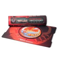 Podložka pod myš G-Reaver herní podložka pod myš, černo-červená