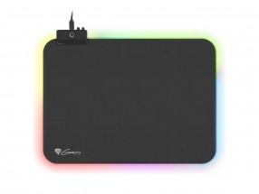 Podložka pod myš Genesis Boron 500 M, 350x250mm, RGB podvícením