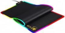 Podložka pod myš Genius GX-Pad 800S, RGB, 80x30 cm, černá