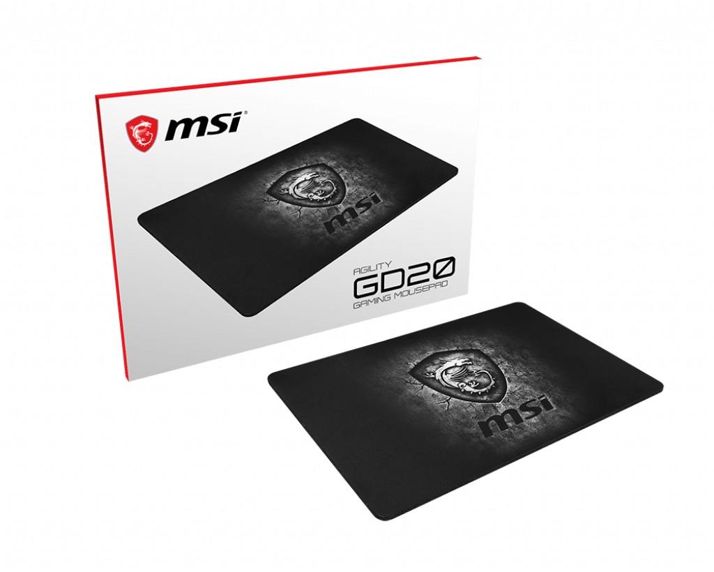 Podložka pod myš Herní podložka pod myš MSI AGILITY GD20, 320x220x5mm