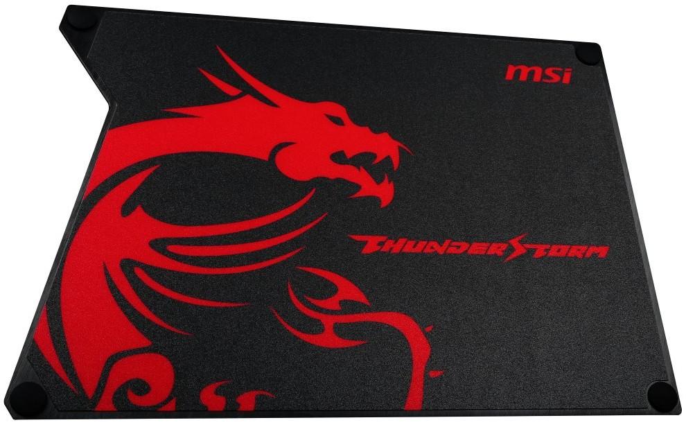 Podložka pod myš Podložka pod myš MSI, Thunderstorm Aluminum GAMING Mouse Pad