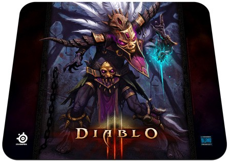 Podložka pod myš STEELSeries QCK Limited Edition (Diablo III, Witch Doctor)