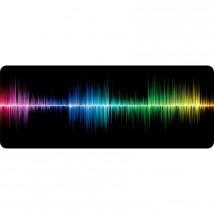 Podložka WG pod klávesnici a myš, frekvence, 750x300mm