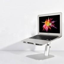 Podstavec pro notebooky COTEetCI hliníkový šedý CS5150-GY