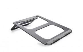 Podstavec pro notebooky COTEetCI hliníkový šedý CS5151-GY