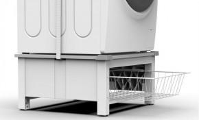 Podstavec s košem pro pračku a sušičku Meliconi M656143