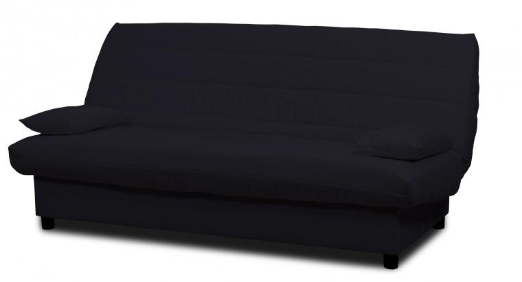 Pohovka Clic Clac-rozkládací,matrace 9cm (eco cotton black)