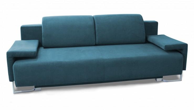 Pohovka Flou - Pohovka, rozkládací, úložný prostor, 2x přístavný stolek