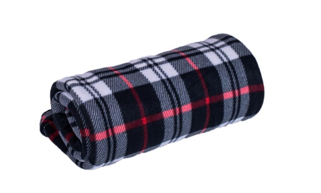 Polštáře a přikrývky Fleecová deka DF01 (150x200 cm, mix barev)