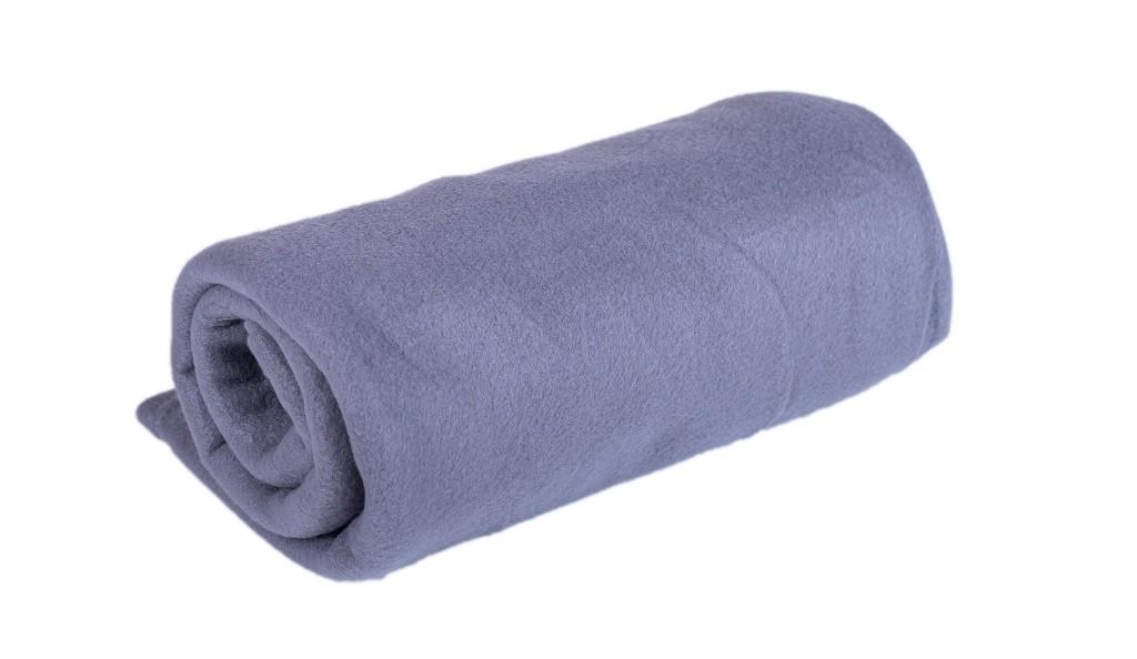 Polštáře a přikrývky Fleecová deka DF05 (150x200 cm, šedá)