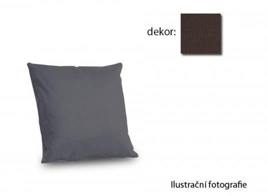Polštářky k sedacím soupravám Amora - polštář 40x40cm (vincent art-brown)